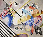 Paul Klee: Fehér közép (id: 19477) poszter