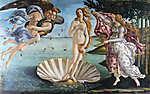 Sandro Botticelli: Vénusz születése (színverzió 1.) (id: 19877)