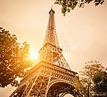 Paris (id: 4677) vászonkép óra