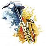 Artful Sax (id: 10378) többrészes vászonkép