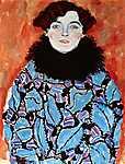 Gustav Klimt: Johanna Staude arcképe (id: 1078) poszter