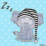 Sleeping Elephant (id: 19078) tapéta
