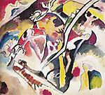 Vaszilij Kandinszkij: Árvíz (id: 19478) többrészes vászonkép