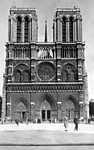 A Notre-Dame székesegyház 1930-ban (id: 20278) többrészes vászonkép