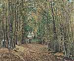 Camille Pissarro: Marly-i erdő (id: 2678) tapéta