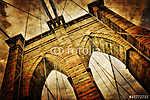 Brooklyn híd szüreti kilátás (id: 5078)