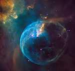 Űrfelvétel - NASA (id: 17279) többrészes vászonkép