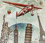 Travel around the world poster (id: 19179)