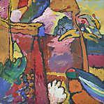 Paul Klee: Tanulmány az improvizáció 5-höz (id: 19479) poszter