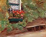 Max Liebermann: Holland parasztház (id: 19679) vászonkép óra