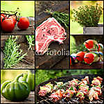 BBQ kollázs (id: 4779) tapéta