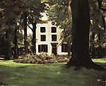 Max Liebermann: Villa Hilversumban (id: 19680) többrészes vászonkép