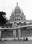 FORTEPAN: Párizs, A Sacre Couer 1930-ban (id: 20280) többrészes vászonkép