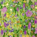 Gustav Klimt: Csók, virágmező textúra, részlet 2 (id: 21080) vászonkép óra