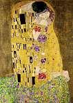 Gustav Klimt: A csók (részlet), 1908 (id: 2480) többrészes vászonkép