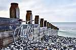 Kerékpár a tengerparton (id: 14381)