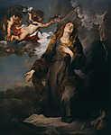 Anthony van Dyck : Palermói Szent Rozália  (id: 19381) tapéta