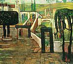 Berthe Morisot: Zarándokok hazatérése (id: 19781) vászonkép óra