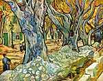 Vincent Van Gogh: Útkaparók (id: 381) vászonkép óra