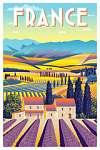Utazás poszter - Franciaország (id: 20982) tapéta