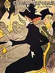 Henri de Toulouse Lautrec: Japán díva (id: 3782) falikép keretezve
