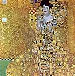 Gustav Klimt: Adele Bloch portréja (id: 1083) tapéta