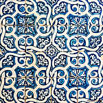 Azulejos, traditional Portuguese tiles (id: 13383)