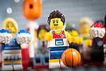 LEGO Characters - Kosárlabdajátékos (id: 17683) vászonkép óra