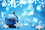 Karácsonyi dekoráció (id: 7083) falikép keretezve