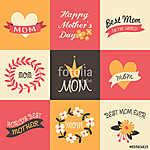 Anyák napi üdvözlőlapok gyűjteménye (id: 10184) vászonkép