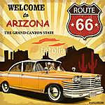 Welcome to Arizona retro poster (id: 19184)