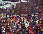 Vaszilij Kandinszkij: Színes élet (id: 19484) tapéta
