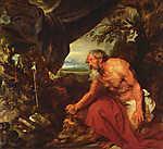 Anthony van Dyck : Szent Jeromos (id: 19485) tapéta