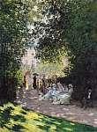 Claude Monet: A Monceau park (1878) (id: 20885) vászonkép