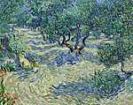 Vincent Van Gogh: Olajfa ültetvény (id: 2885) vászonkép