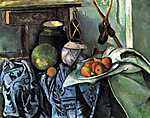 Paul Cézanne: Csendélet padlizsánnal (id: 485)