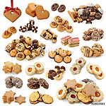 Karácsonyi süteménygyűjtemény (id: 10686) többrészes vászonkép