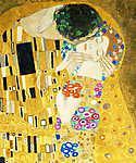 Gustav Klimt: A csók (részlet), 1908 (id: 1086) tapéta