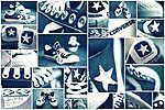 Converse tornacipők - kékben (id: 3786) poszter
