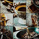 Kávé kollázs (id: 10587) tapéta