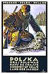 Lengyelország, a vadászat országa (id: 1587) falikép keretezve