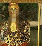 Gustav Klimt: Pallas Athené, 1898 (színverzió 1.) (id: 19787) tapéta
