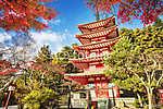 Mt. Fuji bukó színekkel Japánban (id: 9387) poszter