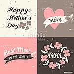 Anyák napi üdvözlőlapok gyűjteménye (id: 10188) bögre
