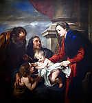 A Szent család (id: 19588) falikép keretezve