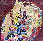 Gustav Klimt: Szüzek (id: 1089) tapéta