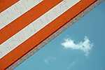 Kék ég, napernyő, nyár (id: 16689) tapéta