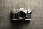 Régi Canon fényképezőgép (id: 17289) vászonkép óra