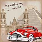 Mexico retro poster. (id: 19189)