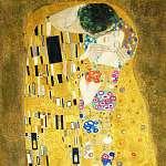 Gustav Klimt: A csók (részlet), 1908 (id: 9889) tapéta